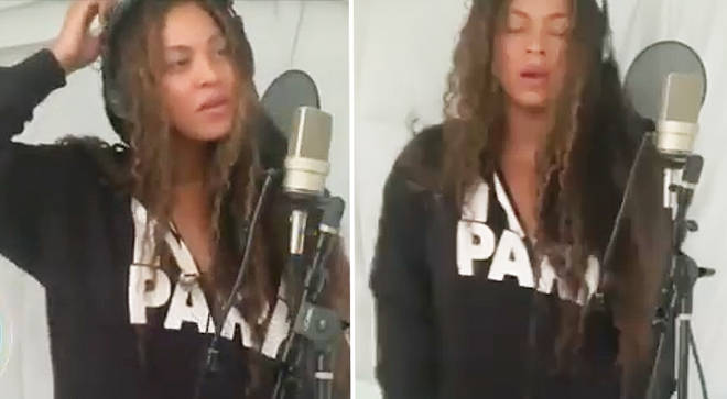 Beyoncé sings opera on Making The Gift