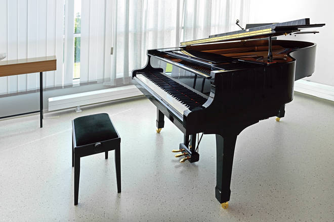 Simister plans to use the groundfloor extension as home for his grand piano