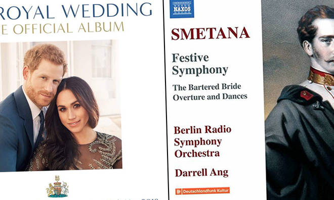 New releases: Royal Wedding Album / Smetana - BRSO