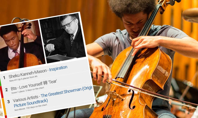 Sheku Kanneh Mason tops the US album charts