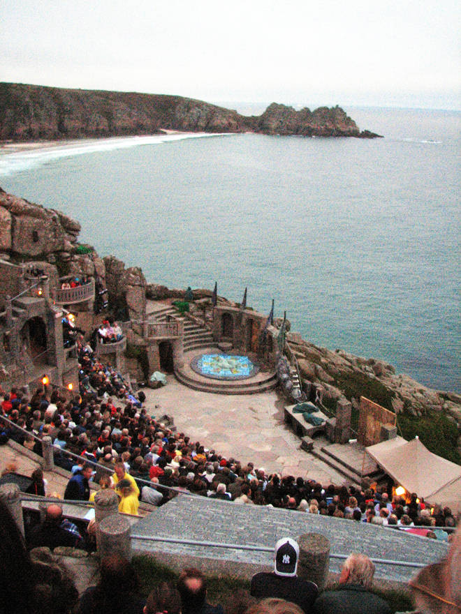 Minack Theatre, Cornwall, UK