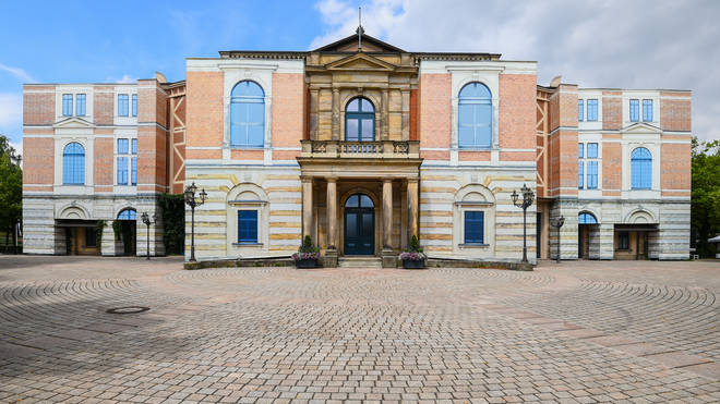 Bayreuth Festival Hall, Germany Wagner opera house