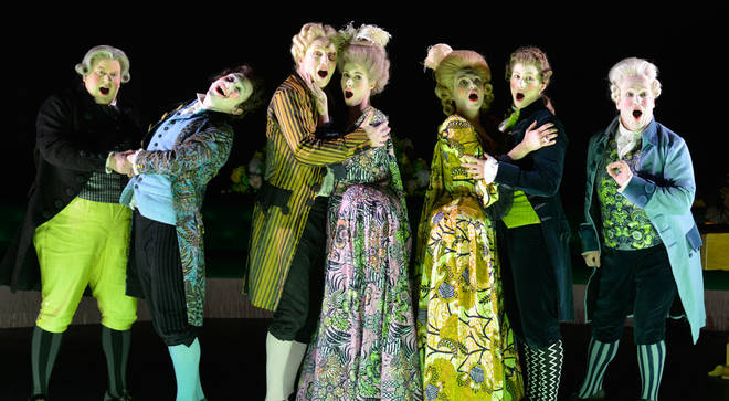 Opening Night Of The Royal Opera Performing Handel's Berenice At The Linbury Theatre