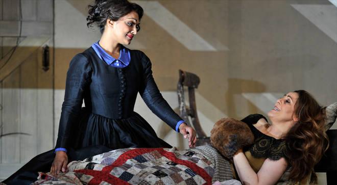 Royal Opera production of Puccini's La Boheme at The Royal Opera House