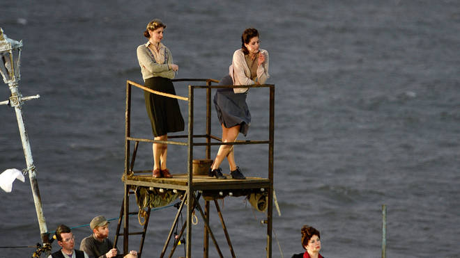 Benjamin Britten's Peter Grimes, live on the beach at the Aldeburgh festival