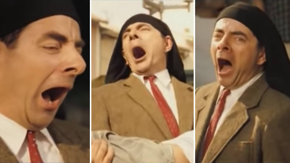 Someone has unearthed this clip of Mr Bean 'singing' a Puccini aria and it's just glorious