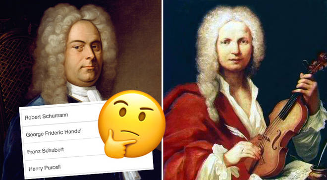 Name the classical composers