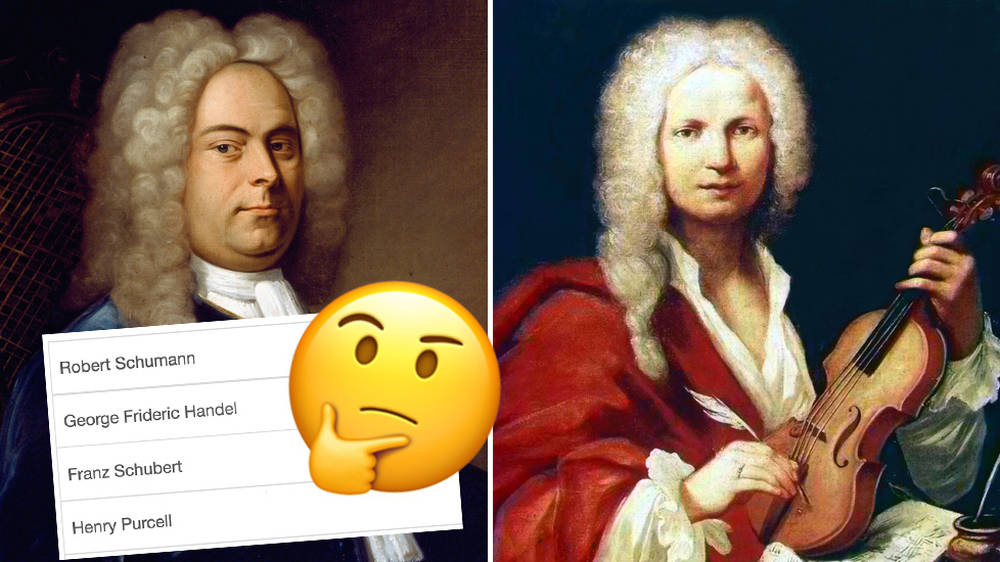 Most people can't identify 7/19 classical composers – can you?