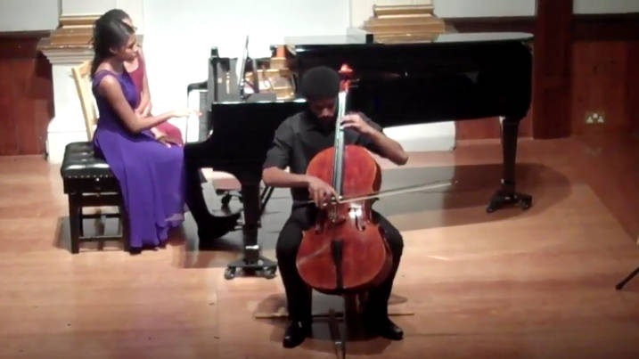 Watch Royal Wedding cellist Sheku play Fauré's Après un Rêve when he was just 15