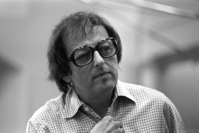 Late conductor André Previn