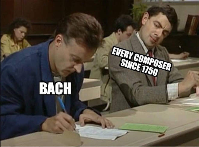 Copying Bach