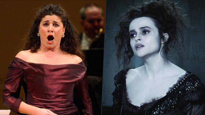 Cecilia Bartoli; Helen Bonham Carter in Sweeney Todd (2007)