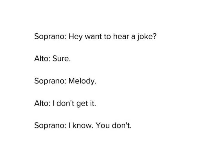 Sopranos vs altos