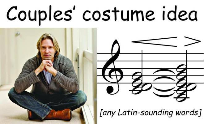 Couples' costume idea
