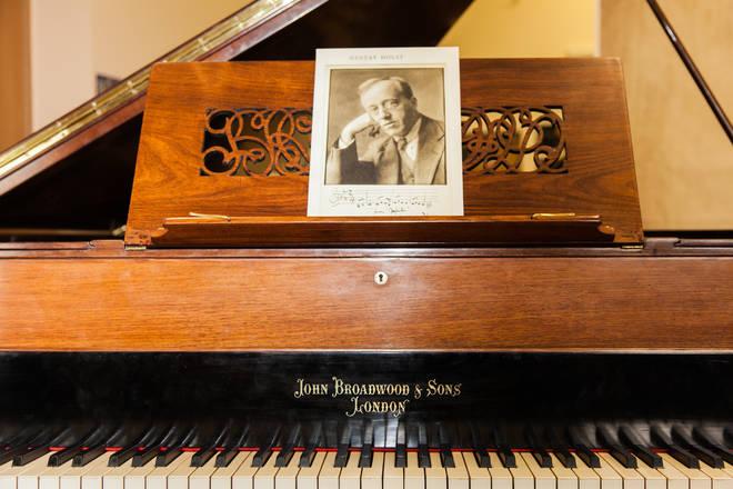 Gustav Holst's 1913 Broadwood piano The Planets composer