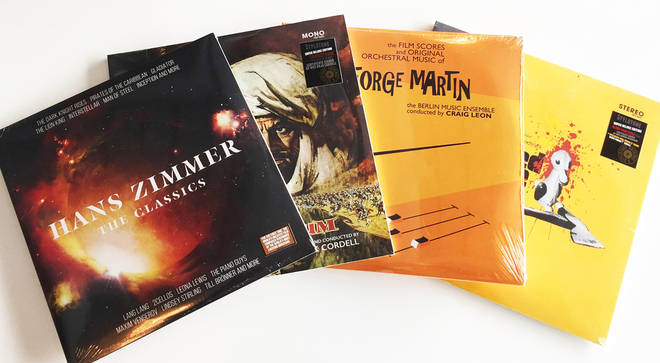 Win an epic bundle of movie music vinyl