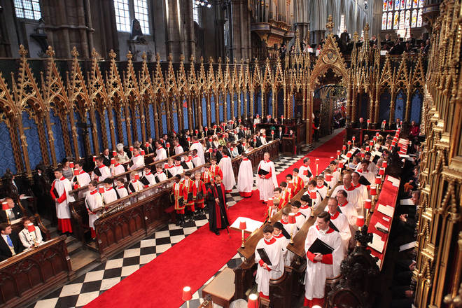 'Jerusalem' was sung at Westminster Abbey for the wedding of the Duke and Duchess of Cambridge