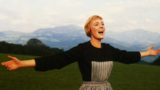 Julie Andrews is best known for her role as Maria in The Sound of Music (1965)