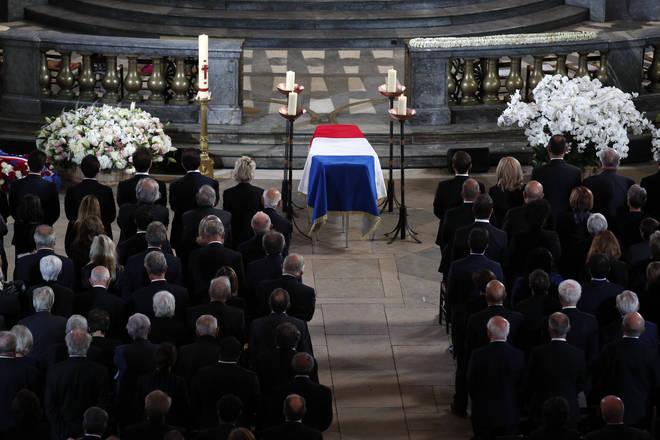 Jaques Chirac's memorial service