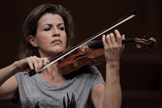 Anne-Sophie Mutter speaks about the filming incident which disrupted her performance of Beethoven's Violin Concerto