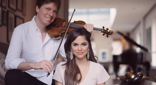 Joshua Bell and Larisa Martínez