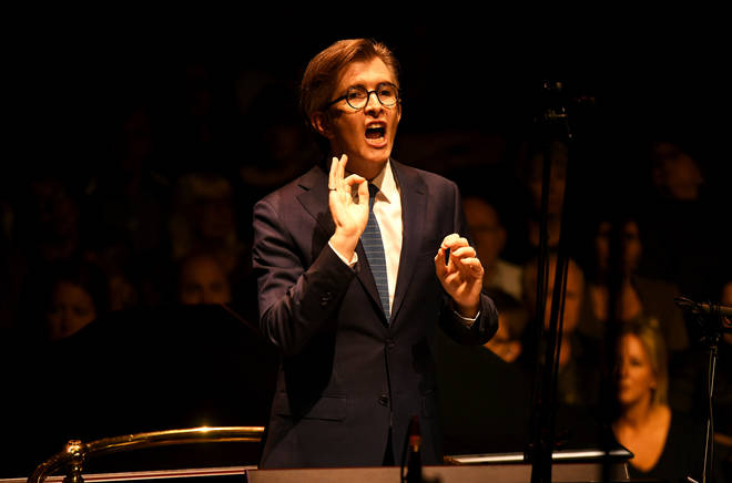 Choirmaster Gareth Malone conducts 'Wherever You Are', sung by Sara Brimer Davey