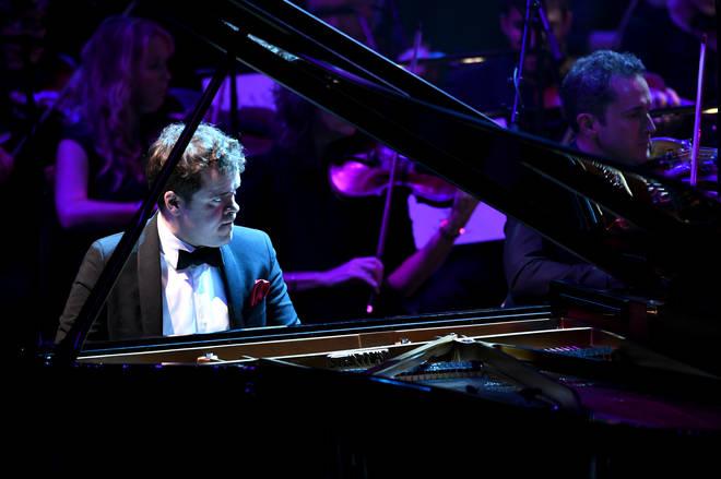 Pianist Benjamin Grosvenor performs at Classic FM Live 2019