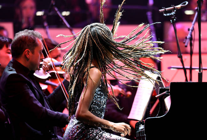 Pianist Isata-Kanneh Mason performs at Classic FM Live 2019