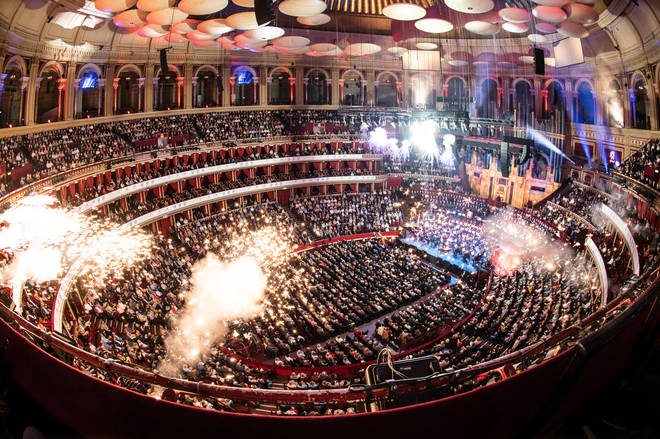 Classic FM Live 2019 fireworks finale at the Royal Albert Hall