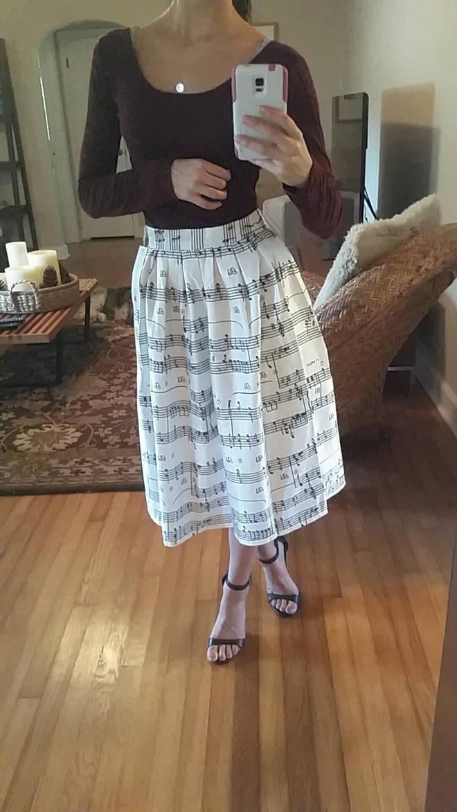 Musical skirt