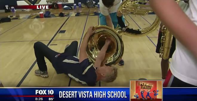 Not a tuba.