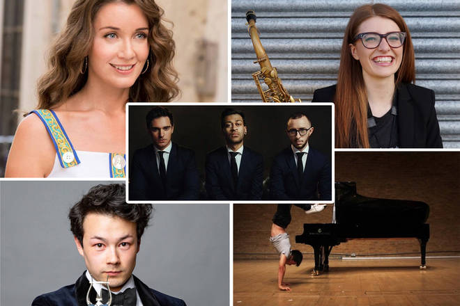 Classic BRITs Sound of Classical poll shortlist