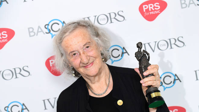 Thea Musgrave at The Ivor Novello Awards