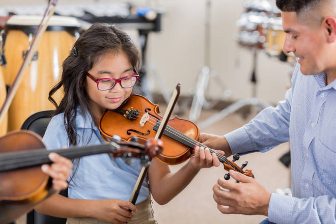 Frederick Bremer School gives every new pupil a violin