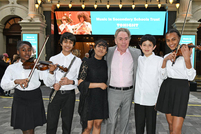 Lord Lloyd-Webber attends the 'Music In Secondary Schools Trust 5th Anniversary Concert'