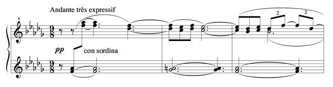 Debussy's 'Clair de lune'