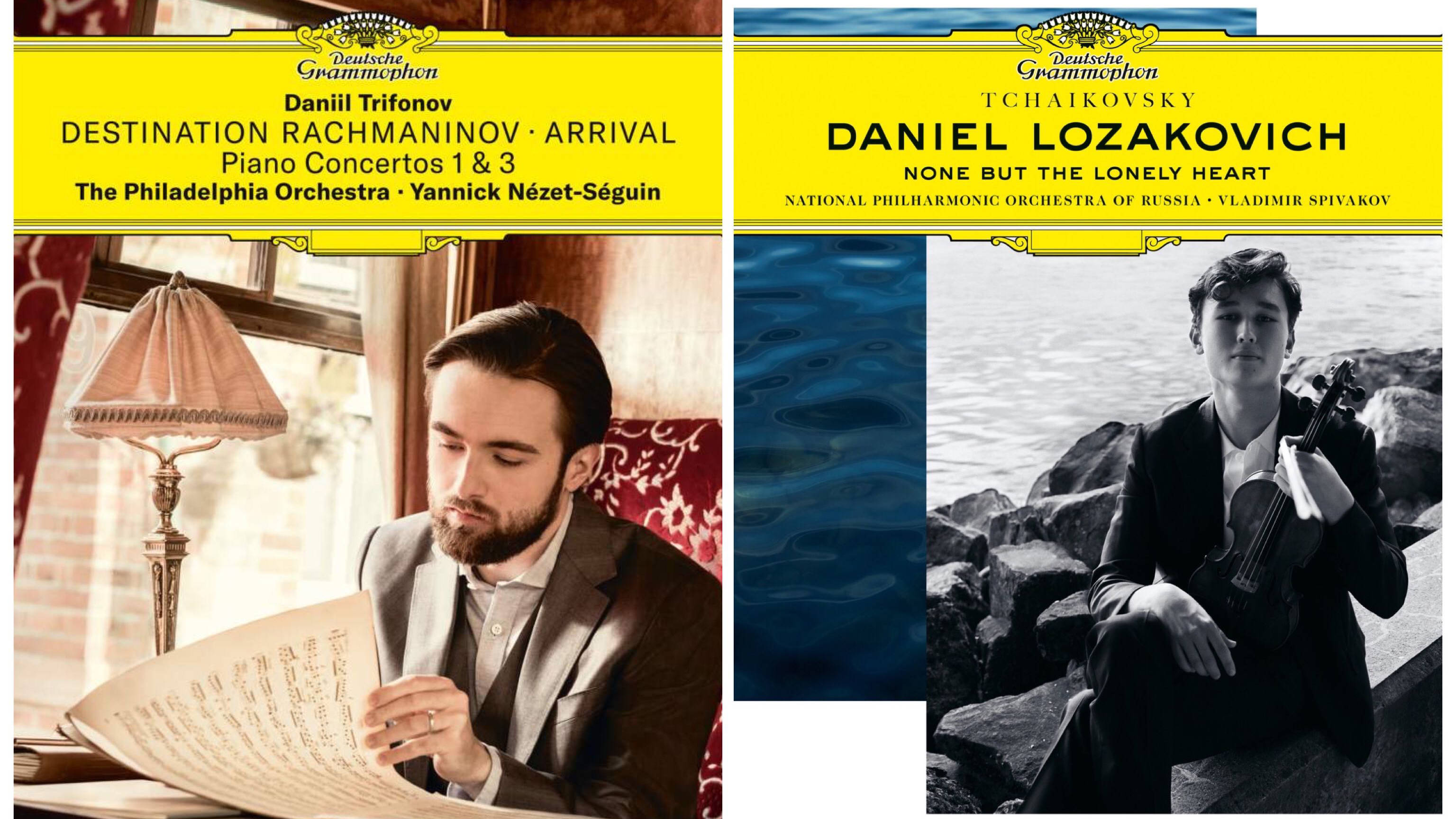 New Releases: Destination Rachmaninov: Arrival – Trifonov; None But The Lonely Heart – Lozakovich