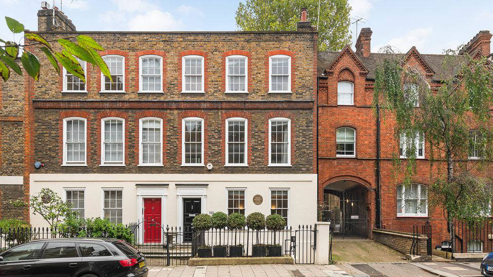 Mozart's London townhouse has been listed for £7.5 million – take a look inside
