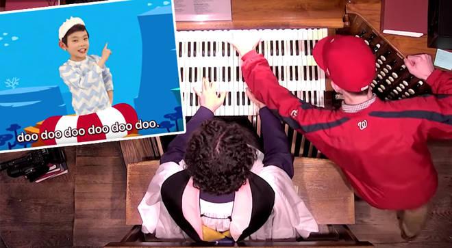 'Baby Shark' on organ