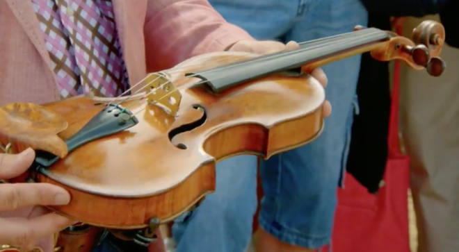 Antiques Roadshow violin