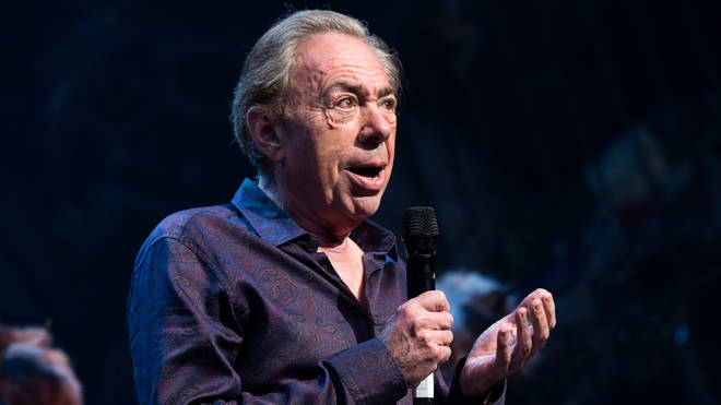 Andrew Lloyd Webber at the 2016 Broadway revival of CATS