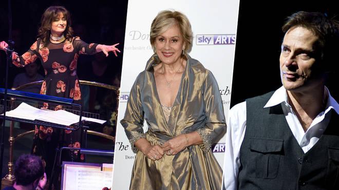 Debbie Wiseman, Kiri Te Kanawa and Simon Keenlyside