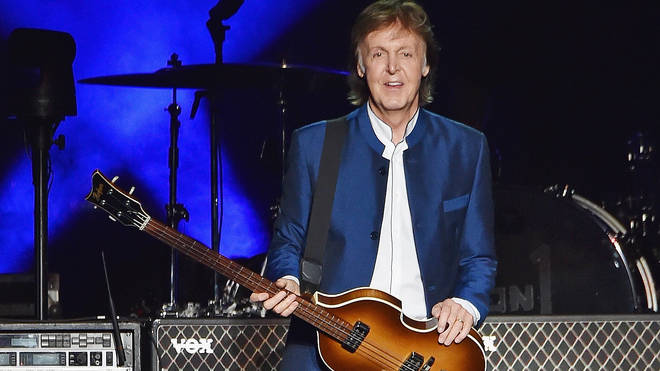 Sir Paul McCartney at MetLife Stadium on August 7, 2016
