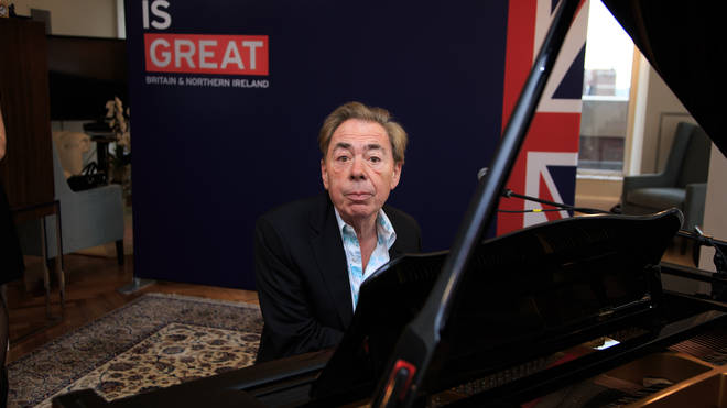 Composer Andrew Lloyd Webber performs during The British Consulate Honors