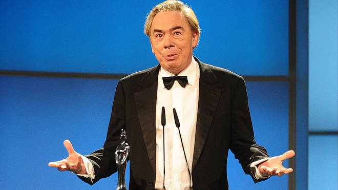 Andrew Lloyd Webber at the Classic BRIT Awards 2012