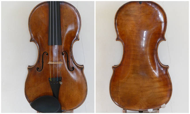 Stephen Morris' antique violin