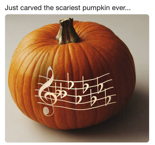 D flat minor pumpkin