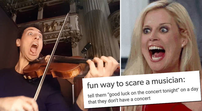 Scary things to tell a musician