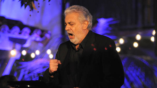 Plácido Domingo sings for The Alzheimer's Association in 2013