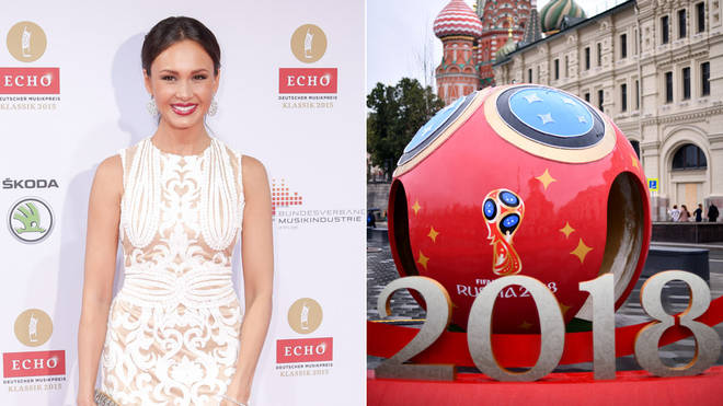 World Cup Opening Ceremony with Aida Garifulllina